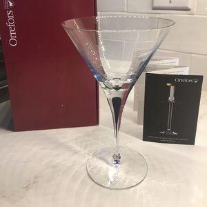 Orrefors Intermezzo Martini Glass